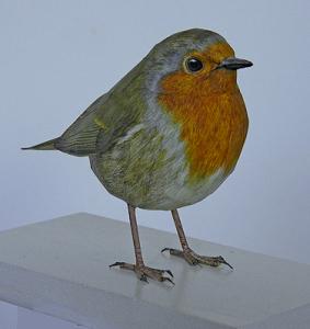 Птичка-чучело